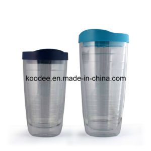 BPA Free Screw Tumbler with Paper Insert (KD-802)