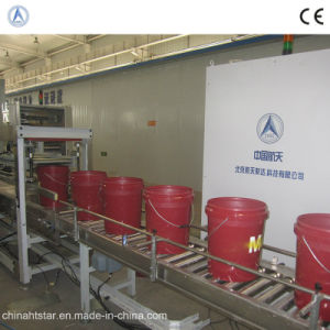 20L Lubricating Oil Filling Line for The Exxonmobil (ISO9001, CE)