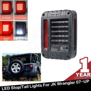 Black 07-16 for Jeep Wrangler LED Tail Light (JK-LT-US3)
