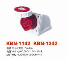 Industrial Plugs and Socket (KBN-1142)