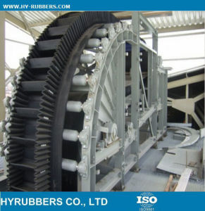 Sidewall Conveyor Belt (rubber) Corrugated pictures & photos