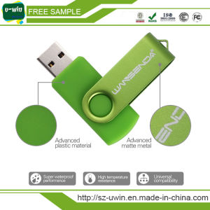 Promotional Gift Free Sample USB Stick Swivel USB Flash Drive (UWIN-360) pictures & photos
