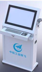 22inch Floor Standing Interactive Queue Systems /Muti-Touch Kiosk