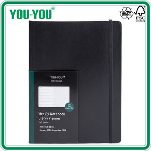 Extra Large Soft Cover Weekly Planner Diary Notebooks for Office Campus