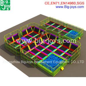 China new design indoor trampoline park bj bu14 china for Indoor trampoline park design manufacturing