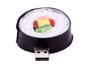 New Sushi Roll Food Model PVC USB 2.0 Flash Drive pictures & photos