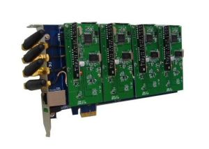 4 Ports GSM CDMA PCI E Asterisk Analog Card pictures & photos
