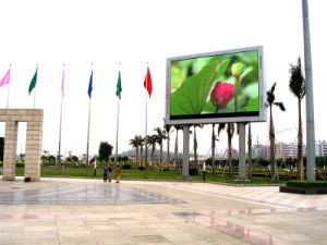 P16 Full Color Outdoor LED Advertising Display in Park pictures & photos