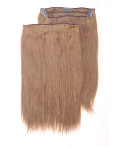 Vietnam Human Hair Weavings Clip on Hair Extensions pictures & photos
