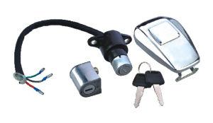 Motorcycle Lock Set (ZW-A015-KN125-2)