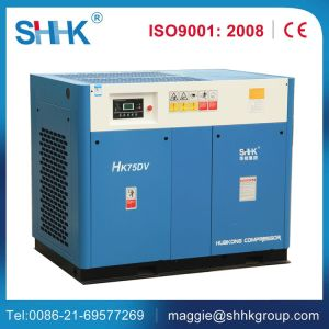Screw Inverter Rotary Electric 200V AC Air Compressor pictures & photos