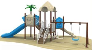 with Swing Chair Kids Outdoor Playground (HD-124A) pictures & photos