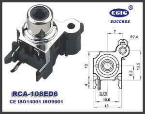 AV Pin Jack (RCA-108ED6)