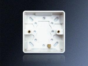 35mm Single Cavity Back Box