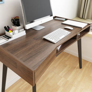 Modern Design Wooden Computer Desk in Study Room pictures & photos