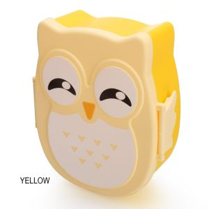 Cartoon Kids Cute Owl Lunch Box Food Container Storage Box Portable Bento Box pictures & photos