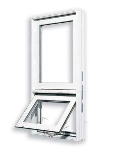 PVC Awning Window With Fixed Window pictures & photos