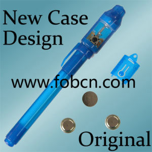 Invisible Ink Pen, Logo Pen, UV Pen (1107)