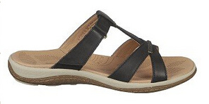 Great up and About Nubuck Leather Slide Style Sandals pictures & photos