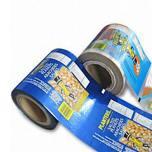 Plastic Printted Roll Film