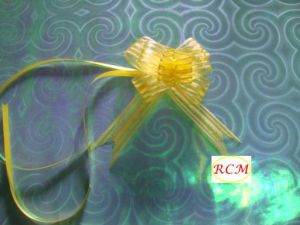Organza Butterfly Pull Bow