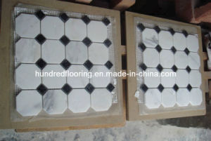 White Marble Mosaic Tile (HSM107) pictures & photos