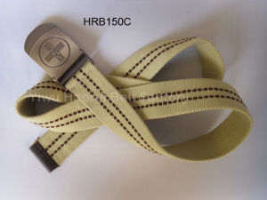 Knitted Belts With Khaki Color