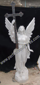 Marble Granite Angel Monument with Angel Tombstone Angel Headstone (SY-X1544) pictures & photos
