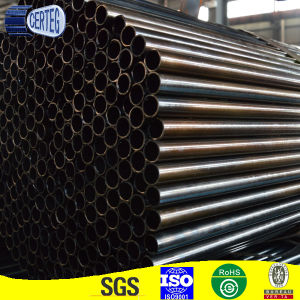 Common Carbon Round Black Annealed Steel Pipes pictures & photos
