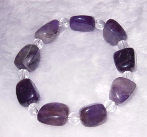 Semi Precious Stone Crystal Gemstone Tiger Eye Bead Charming Bracelet Jewelry pictures & photos