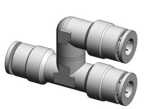 Brass Push in Fittings (Series MPYS)