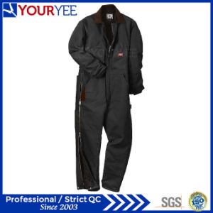 Unbeatable Price Warm Insulated Coveralls with Knees Pads Zip to Waist (YLT123)