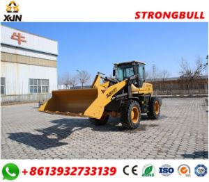 Hydraulic Wheel Loader 2000kg 1cbm Bucket Load 85kw Hydraulic Moving Type Wheel Loader Zl33 for Sale pictures & photos