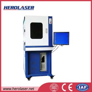 High Speed 20W 30W Ipg Mopa Fiber Colour Marking Metal Laser Marking Machine pictures & photos
