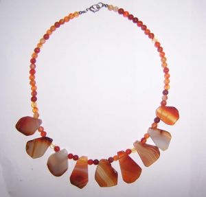Semi Precious Stone Necklace, Fashion Necklace, Jewelry Sets <Esb01332> pictures & photos
