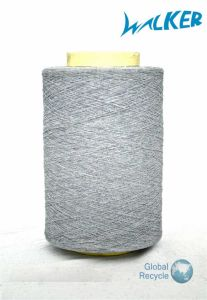Recycled Cotton Polyestesr Blended Yarn pictures & photos