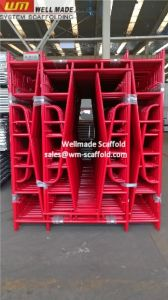 a Frame Scaffold Construction Walk Through Frame Scaffolding pictures & photos