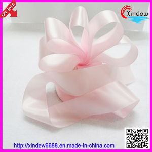 100% Polyester Double Face Stain Ribbon pictures & photos