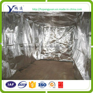 Aluminum Foil Woven Fabric Insulated Thermal Blanket Keeping Coffee Fresh pictures & photos