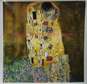Klimt Oil Painting On Canvas (T19)