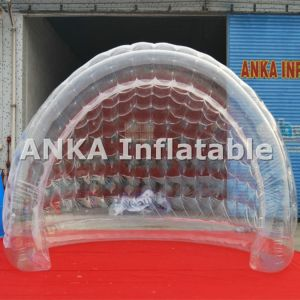 Inflatable Transparent Shell Tent for Stage Show pictures & photos