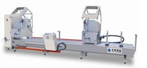 Double-Head Precision Cutting Saw CNC for Aluminum Window and Door pictures & photos