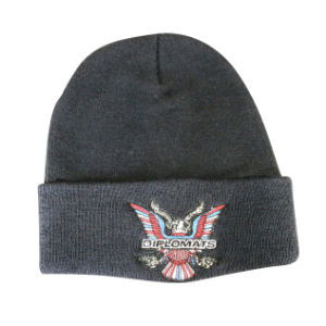 3D Embroidery Custom Fashion Beanie Hat with High Quality