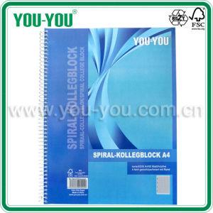 A4 Spiral Notebook (SPIRALCPA4SQUARED)