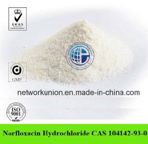 Norfloxacin Hydrochloride CAS 104142-93-0 99% Veterinary Medicine Norfloxacin HCl pictures & photos