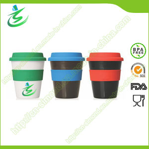 12 Oz BPA-Free Promotional Coffee Cup with Cover pictures & photos