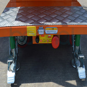 Mobile Aerial Stock Picker (Double Masts) Max Working Height 5.30 (m) pictures & photos