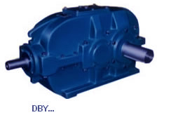 DBY Cylindrical Right-Angle Bevel Gearbox
