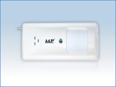 Wireless Directional Curtain Infrared and Microwave Tri-Technology Detector