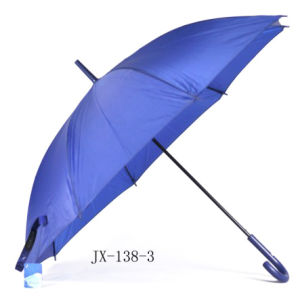 70*8k Auto Open Golf Umbrella (JX-U138)